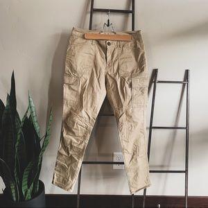 Skinny Cargo Khakis